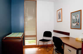 A look at one of our exam rooms